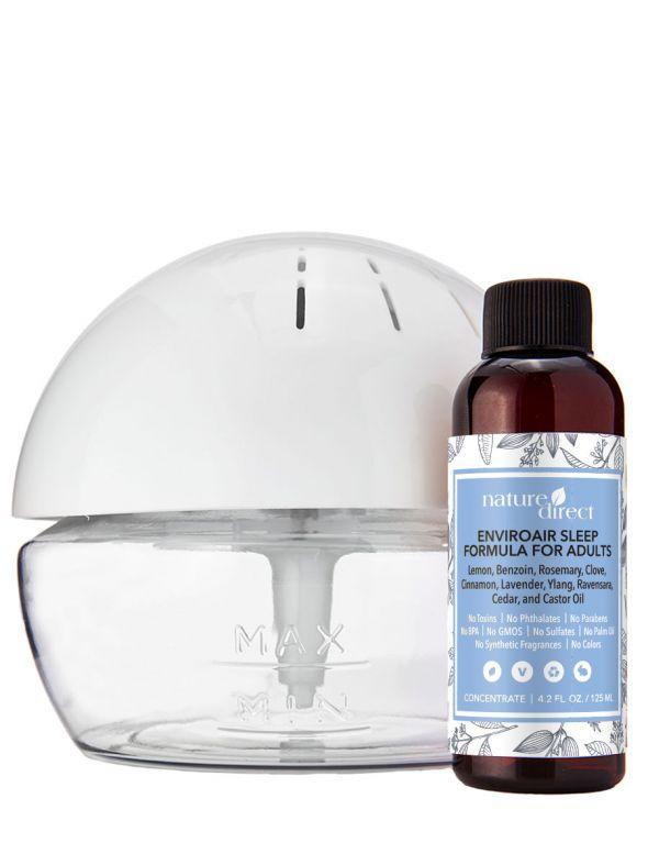 Nature Direct EnviroAir™  Sleep Formula for Adults & Pure Air Revitalizer Bundle