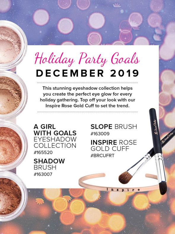 Mineral Makeup of the Month Club - December 2019